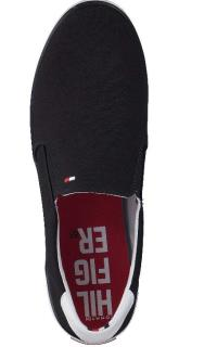 TOMMY HILFIGER - ICONIC SLIP ON SNEAKER MIDNIGHT
