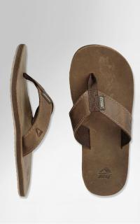 REEF-LEATHER SMOOTHY BRONZE BROWN